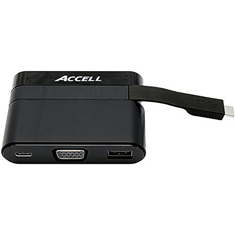 Review Accell U205B-001B USB-C Portable