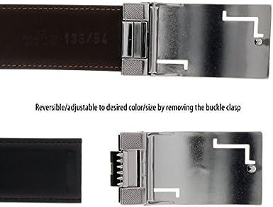 HS Collection HSB 5099 Black//Brown Reversible//Adjustable Mens Belt for mens