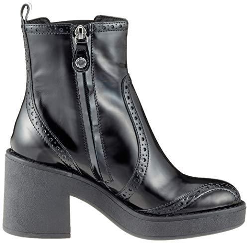 C9999 D C Noir Femme Botines black Mid Adrya Geox 8Hd6xqzq