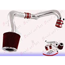 01 02 03 04 05 Honda Civic 1.7L MT Cold Air Intake + Red Filter CHD9R