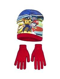 Paw Patrol Childrens Boys Winter Hat Gloves Set