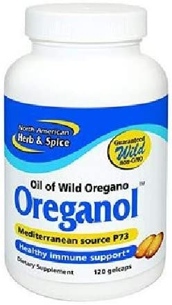 North American Herb and Spice, Oreganol P73 Softgels, 120 Count