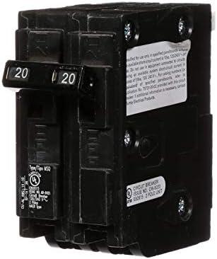 Murray MQ220 QO Replacement 20-Amp Double Pole Circuit Breaker