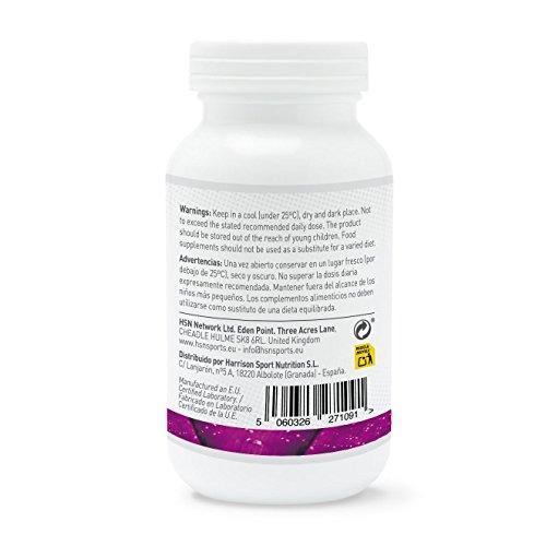 Vitamina E de HSN Essentials - D-Alfa-Tocoferol, Antioxidante Natural, reduce el estres oxidativo, Beneficios para la piel, cabello y uñas - 400IU - 100 ...