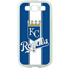 MLB Major League Baseball Kansas City Royals Samsung Galaxy S3 SIII I9300 TPU Soft Black or White case (White)