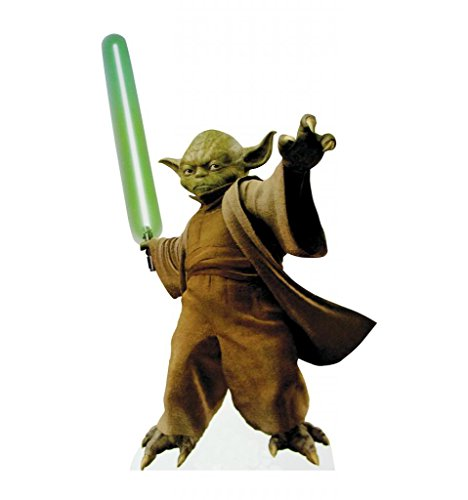 Yoda - Star Wars Prequel Trilogy - Advanced Graphics Life Size Cardboard (Long Halloween Trilogy)