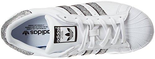 Adidas Superstar Dame Fitness Sko Hvid (ftwbla / Supcol / Negbas 000) c8l38