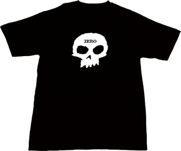 137d0a86f669ee Image Unavailable. Image not available for. Colour: Zero Skateboards Single Skull  Black ...