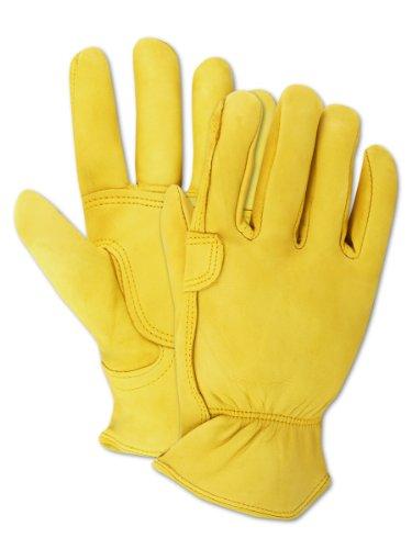 Magid TB559ET-L Men's Pro Grade Collection Roper Goatskin Gloves, Large (Roper Collection)