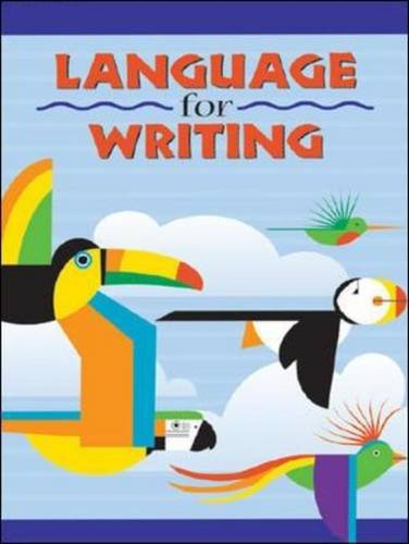 Language for Writing, Student Textbook (softcover) (DISTAR LANGUAGE SERIES) by McGraw-Hill Education