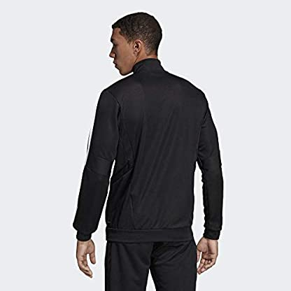 adidas Herren TIRO19 TR JKT Sport Jacket, Black/Black/White, M 5