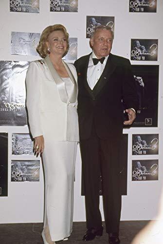 Frank Sinatra Barbara Candid Press Color Photo Original