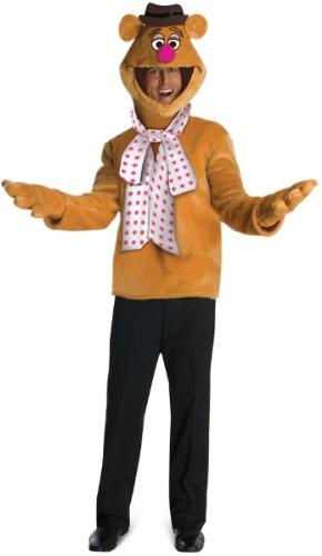 Fozzie Costume - Standard - Chest Size 40-44 (Fozzie Bear Adult Costume)