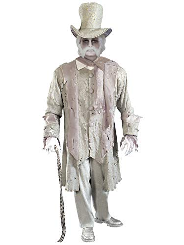 Ghostly Gentleman Adult Costume - -