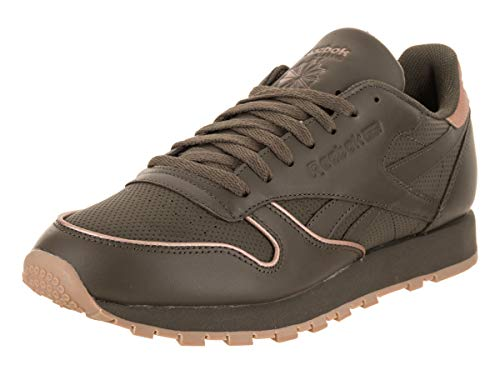 Reebok Men's Classic Leather Rm Army Green/Rose Gold/Gum Casual Shoe 8 Men US from Reebok