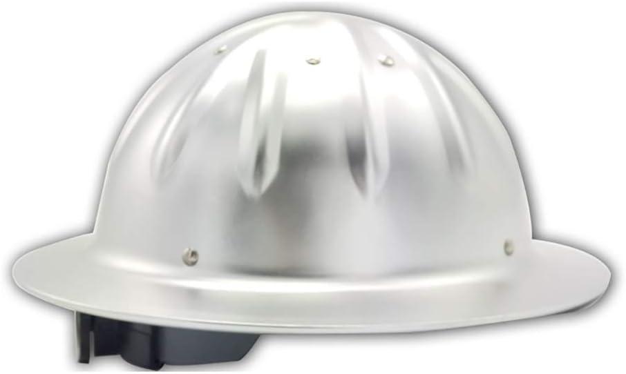 YZJJ Casco de Seguridad Industrial, Casco de construcción rígido, ventilado, arnés de 4 Puntos, Casco de Protección, Casco de Trabajo Casco