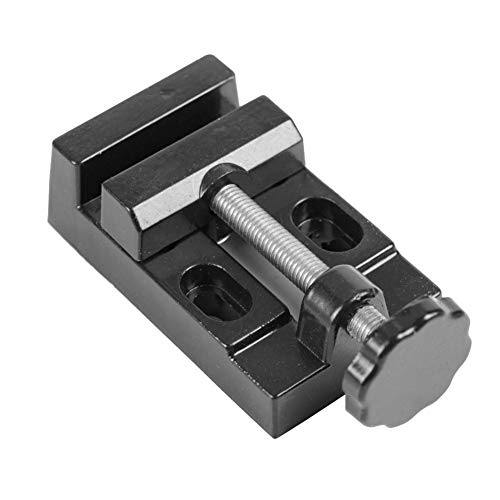 Tornillo de banco Aleacion de aluminio Mini 8005 Abrazadera plana Taladro Prensa Herramientas de tallado