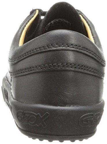Geox J ORIGINAL B. A Jungen Halbschuhe, J4422A 00043 Schwarz (C9999) Leder