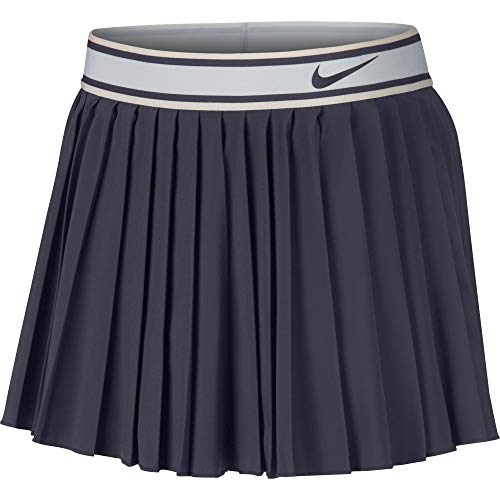 NIKE Women's Court Victory Skirt Gridiron/Gridiron Small by NIKE (Image #2)