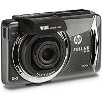HP Car Dashcam (f800x) Full HD 1080p Car DVR with GPS Tracking, Wi-Fi Ready