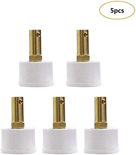 and Cuptisserie Glitter Tumbler Epoxy Resin Crafts Design Set of 5 Cup Turner Connector 7mm//30mm Flexible Coupling Connector with DN25 Pipe Cap for Motor Cup SpinnerTurntable Tumbler Cup Rotator kit
