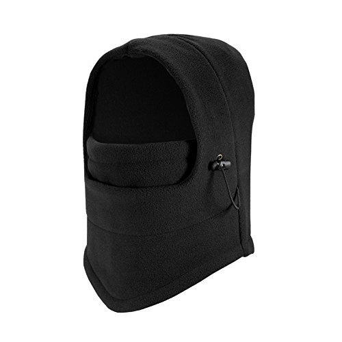 Mufti-use Thickener Fleeces Balaclava Ski Face Mask, Winter Warmer Protective Headgear Wind - Resistant Cap, Perfect for Snowboarding Motorcycle Riding (Scary Costoms)