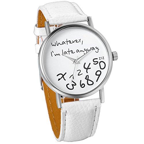 JewelryWe Unisex Whatever Leather Watches