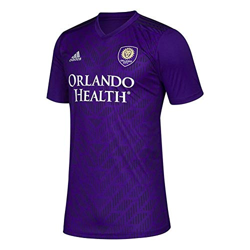 adidas MLS Men's Orlando City 2019 Bring The Noise Replica Team Jersey Purple XX-Large