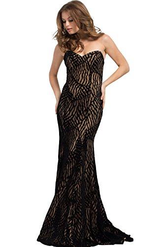 Jovani Evening Fall Ball Gowns Partywear Collection Women's Evening Dress (45032)