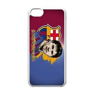 Custom Case FC Barcelona For iPhone 5C N7Q6Q3275