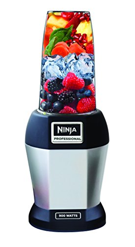 Ninja BL456 Blenders - Countertop, 24 oz, Silver/Black