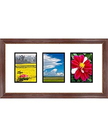 Amazoncom Frames By Mail Triple Square Opening Collage Frame For