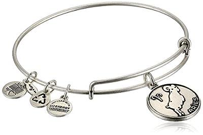 "Alex and Ani II Expandable Wire Bangle Bracelet,7.25"""