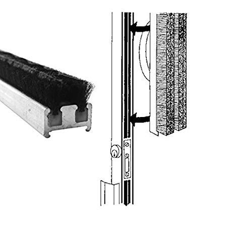 Commercial Entrance Door Astragal Weatherstripping - 84 in Long ()