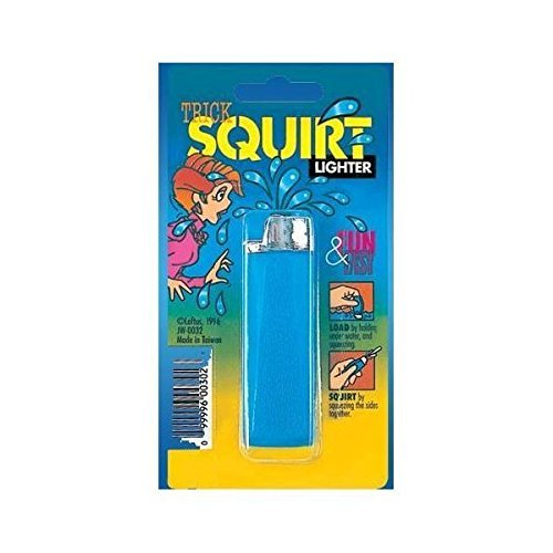 Water Squirting Lighter Prank-gag Assorted Colors