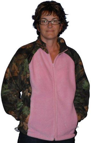 Trailcrest Women's Full Zip Fleece Jacket Small Highland Timber / Pink