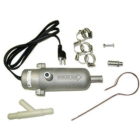 Kat S 13150 1500 Watt Aluminum Circulating Tank Heater