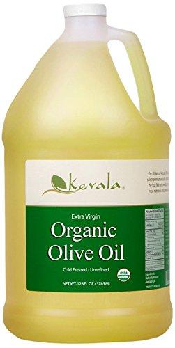 Kevala Extra Virgin Organic Olive Oil, 128 Fluid Ounce (Olive Oil Unrefined)