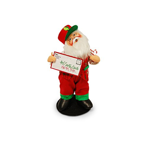 Annalee - 9in Special Delivery - Figurine Santa Delivery Special
