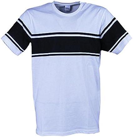 Everlast Tshirt Men Jersey, Blanco Negro (Multicolor White/Black ...