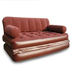 Product Name: Inflatable sofa       Product material: flocking (surface), pvc (bottom)       Product color: dark red       Product size: inflatable bed (168*98*64cm)       Product gross weight: 1.5kg       Product load: 180kg       Cat...