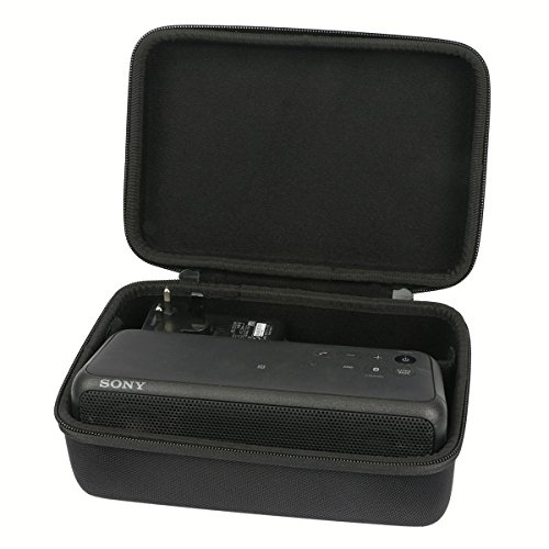 Khanka Hard Case for Sony SRSXB3 SRS-XB3 Portable Wireless Bluetooth Speaker . Fits Fits USB Cable and Wall Charger