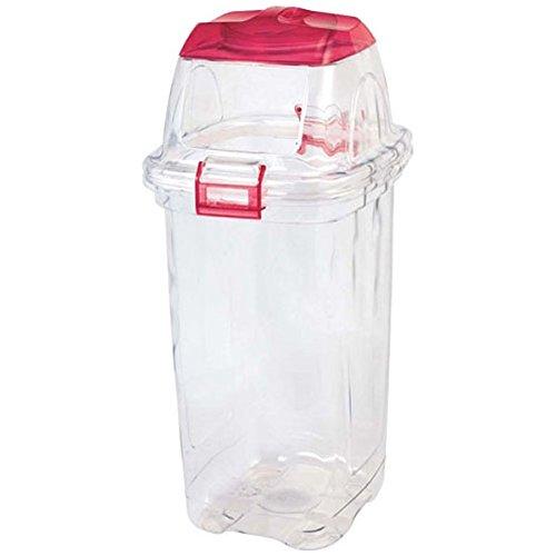 積水テクノ成型 透明エコダスター 一般用 45L(レッド) TPD45R B002NILQEG