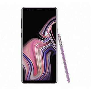 Samsung Galaxy Note9 128GB (Dual-SIM) SM-N960F (GSM Only, No CDMA) Factory Unlocked 4G/LTE Smartphone - International Version (Lavender Purple)