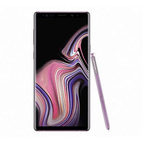 Samsung Galaxy Note9 128GB (Dual-SIM) SM-N960F (GSM Only, No CDMA) Factory Unlocked 4G/LTE Smartphone - International Version (Lavender Purple)