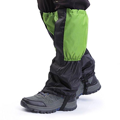 OUTAD Gamaschen Hiking Ski Bergsteigen Klettern Gaiter (Green)