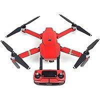 UUMART DJI Mavic Pro Quadcopter Drone Spare Parts Sticker Decal Waterproof Anti Scratch Skin Guard-Black