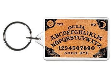 Amazon.com: Ouija Llavero Juego de tablero etiqueta: Office ...