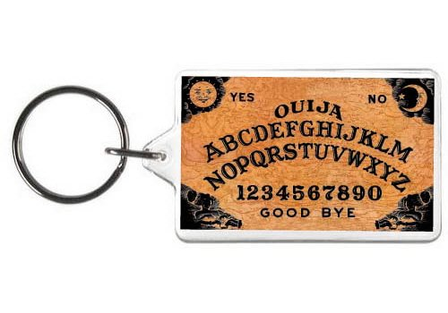 Ouija Board Keychain Tag - Keychain Board Game
