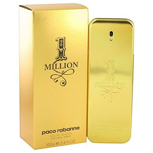 Paco Rabanne One Million Dollar Eau De Toilette Spray - 100ml/3.4oz (1 Million Paco Rabanne 100ml Eau De Toilette)